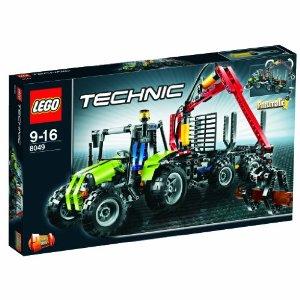 LEGO Technic Traktor mit Forstkran