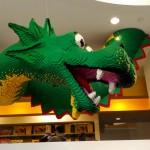 LEGO Store NYC - Der Drache!