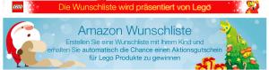 LEGO Amazon Wunschliste