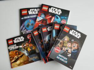LEGO Star Wars Bücher Übersicht