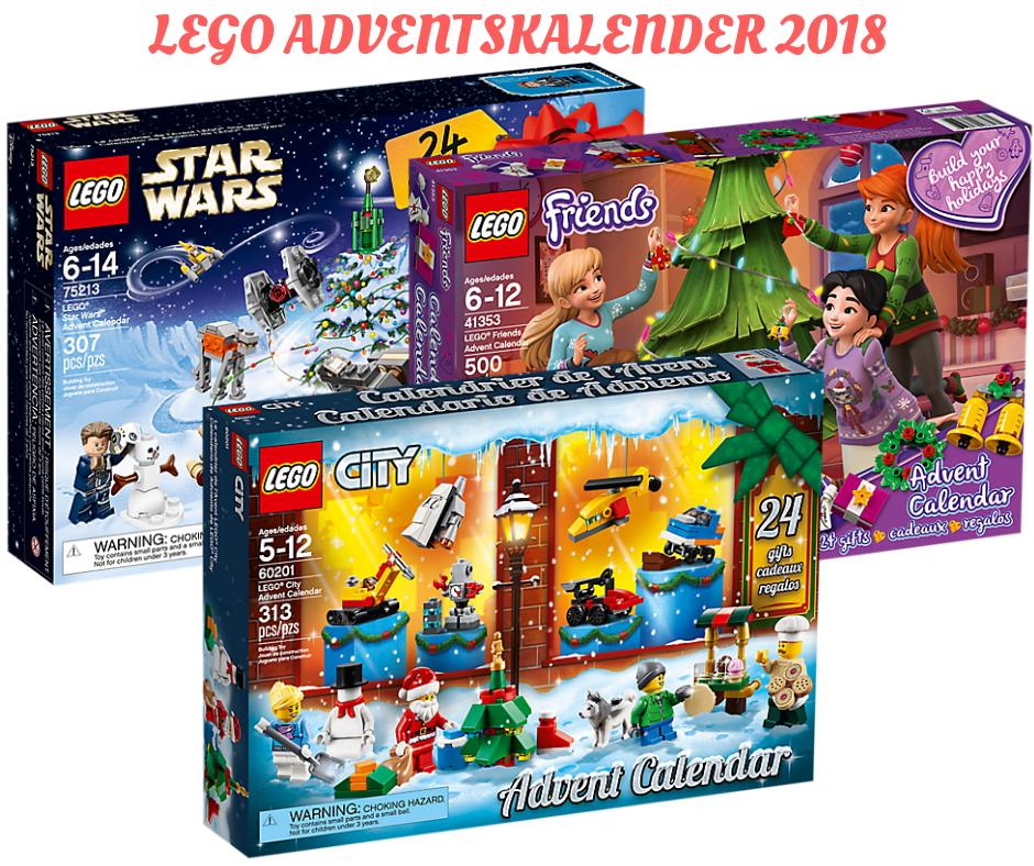 LEGO Adventskalender 2018 - Die Übersicht