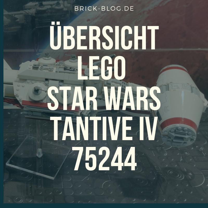 Übersicht LEGO Star Wars Tantive IV 75244