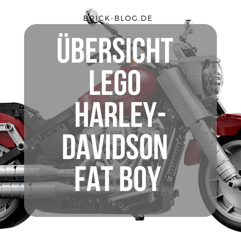 LEGO Creator Expert Harley-Davidson® Fat Boy® (10269)