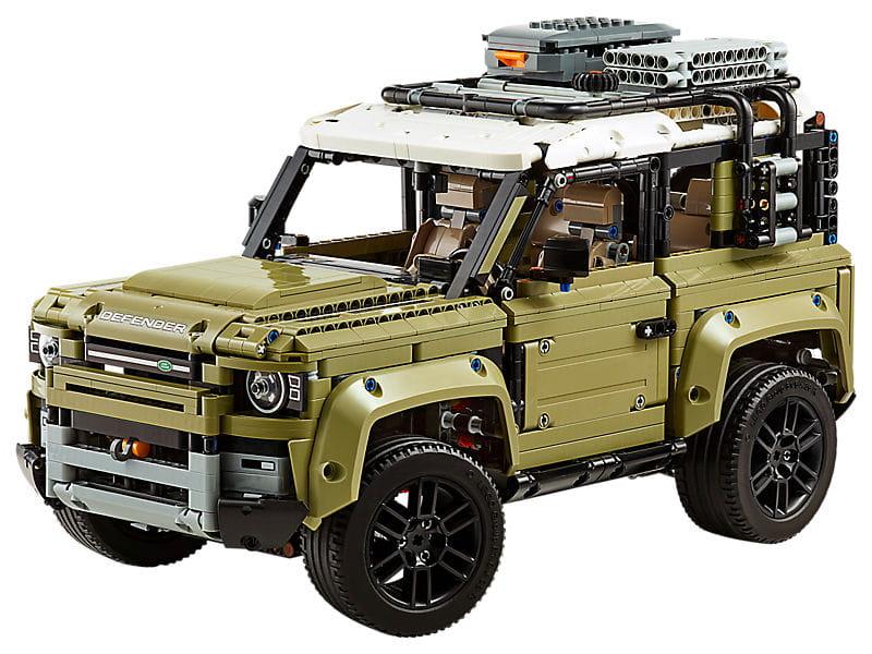 Alle Informationen zum Land Rover Defender 42110 von LEGO Technic