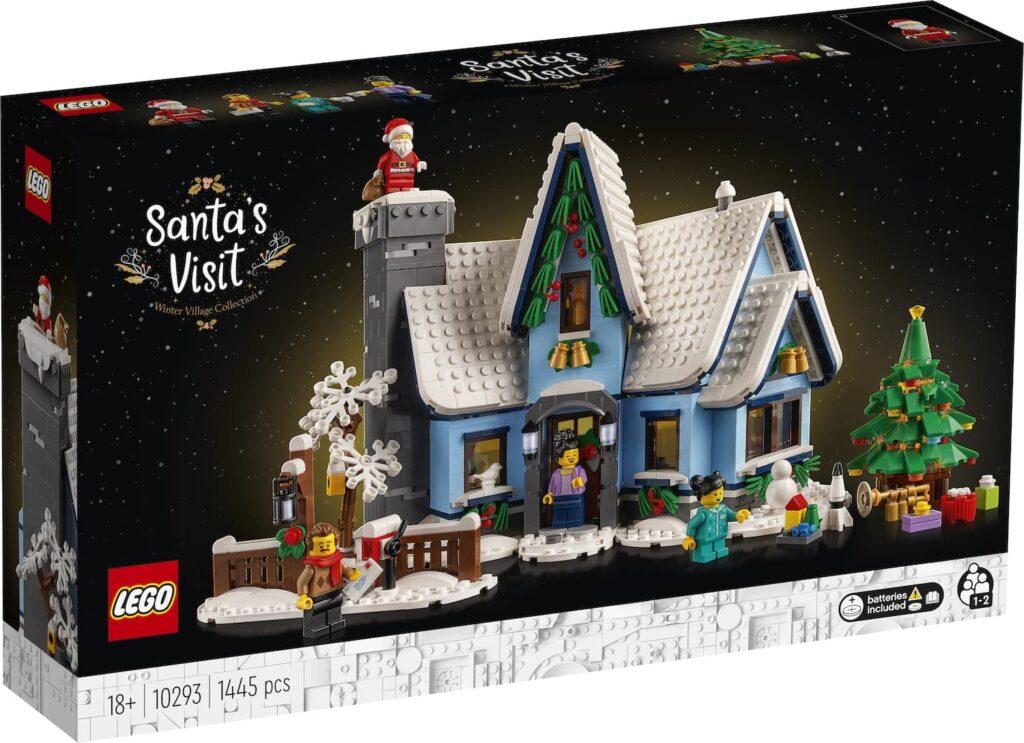LEGO Besuch des Weihnachtsmanns